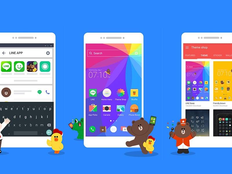 รีวิว LINE Launcher ธีมมือถือ Android สไตล์น่ารักฟรุ้งฟริ้งจาก LINE