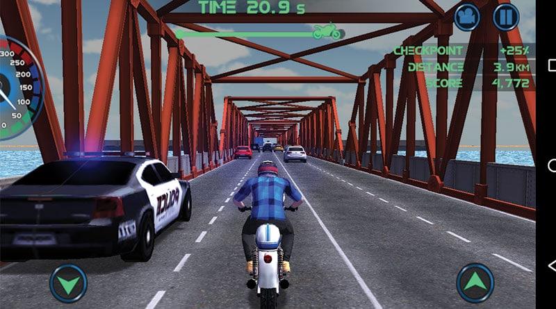 รีวิวเกม Moto Traffic Race ขับมอเตอร์ไซค์ในเมือง กับเส้นทางสุดอันตราย