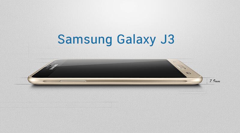 Samsung Galaxy J3 มือถือดีไซน์ดีจากซัมซุง รองรับ 4G เปิดตัวแล้วที่ประเทศจีน