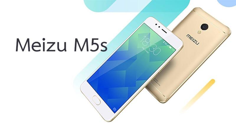 สเปค Meizu M5s มือถือจอ 5.2 แรม 3GB ในราคา 4,100 บาท