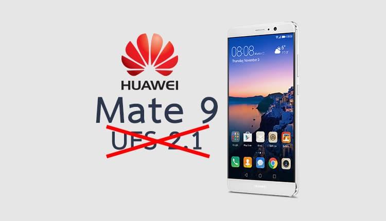 Mate 9 ก็โดนด้วย Huawei แอบถอดสเปคเมม UFS 2.1 ออกจากหน้าเว็บ